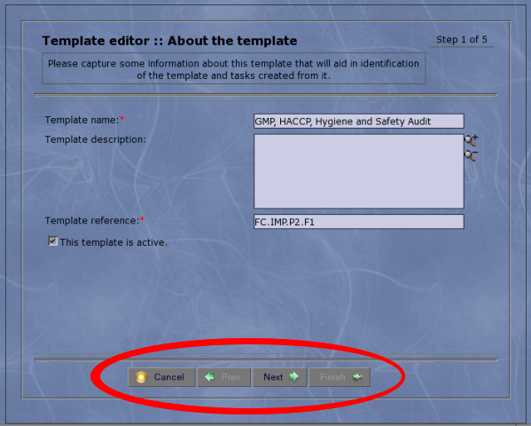 Here's the toolbar in action in my wizard class, which now supports using the toolbar, if it is available