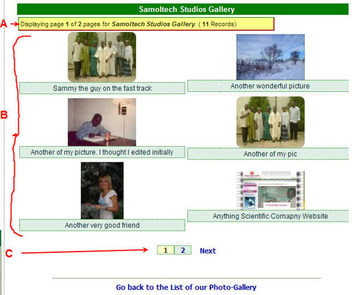 Example page