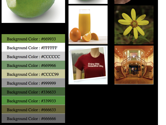 get image color in RGB format