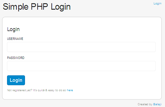 Simple PHP Login Class-login.png