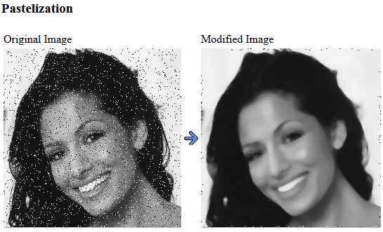 Pastelization example