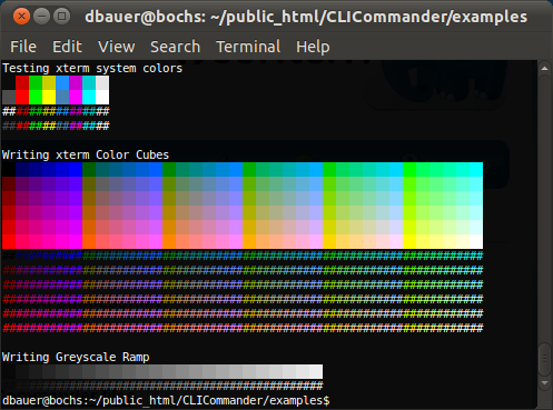 XTerm Color Example