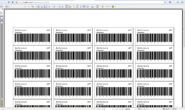 Kiwi: Generate bar code labels in PDF using TCPDF class - PHP Classes