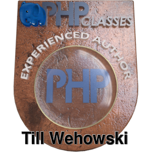 Till Wehowski bei phpclasses.org